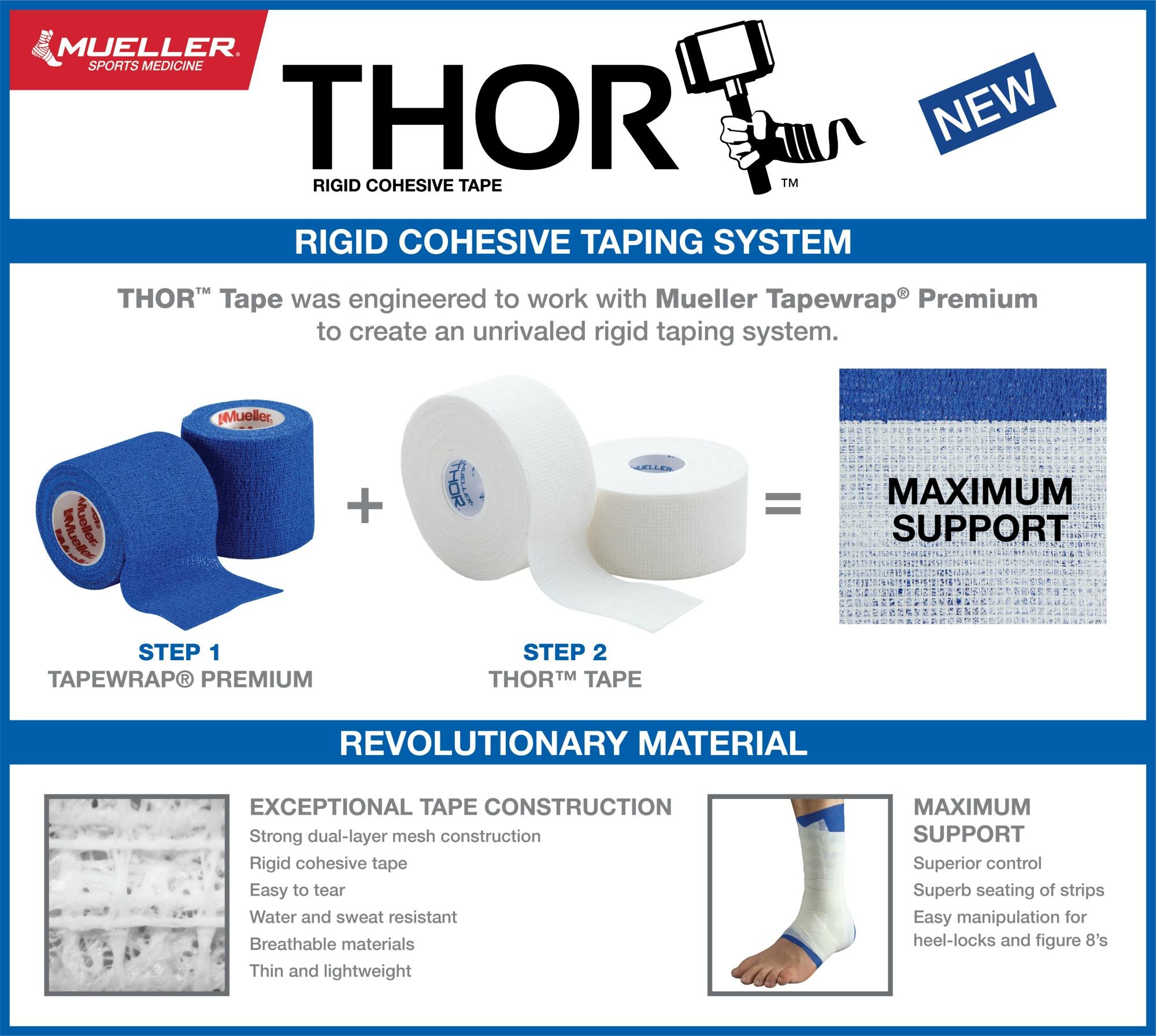 Thor Rigid Cohesive Tape